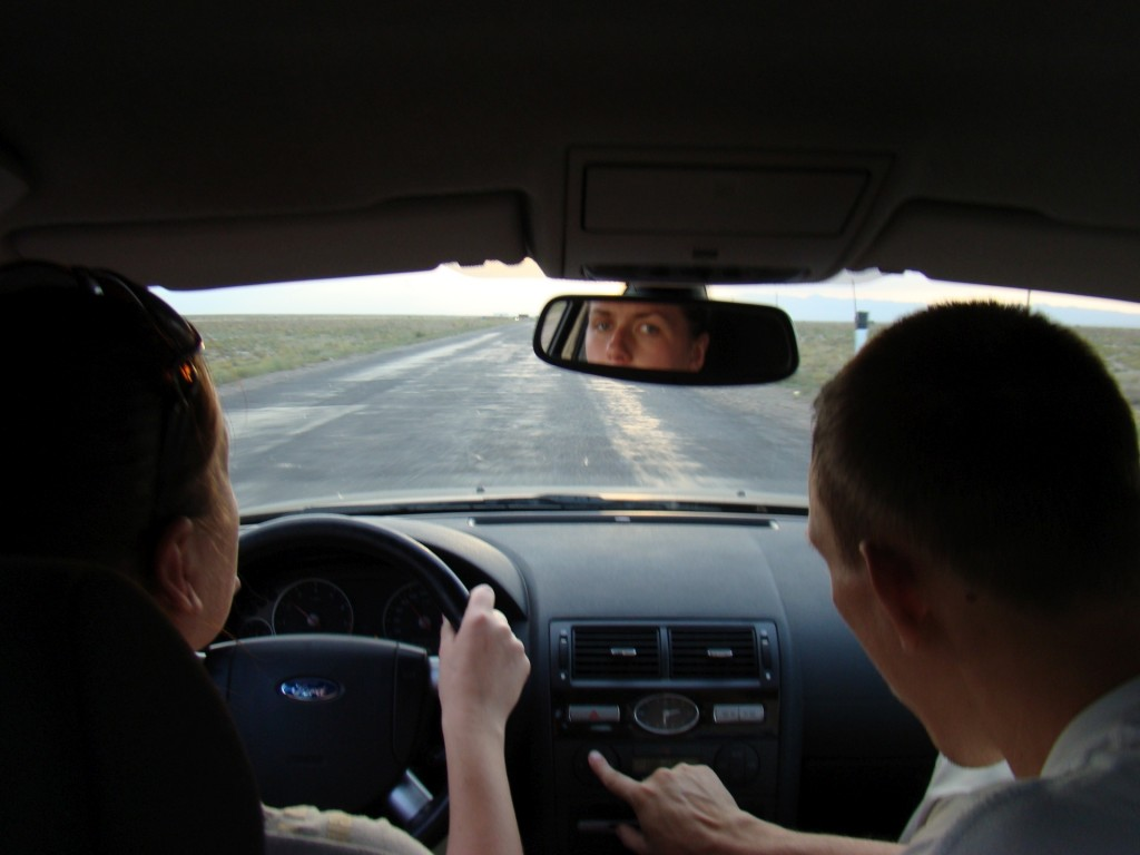 В дороге Казахстан