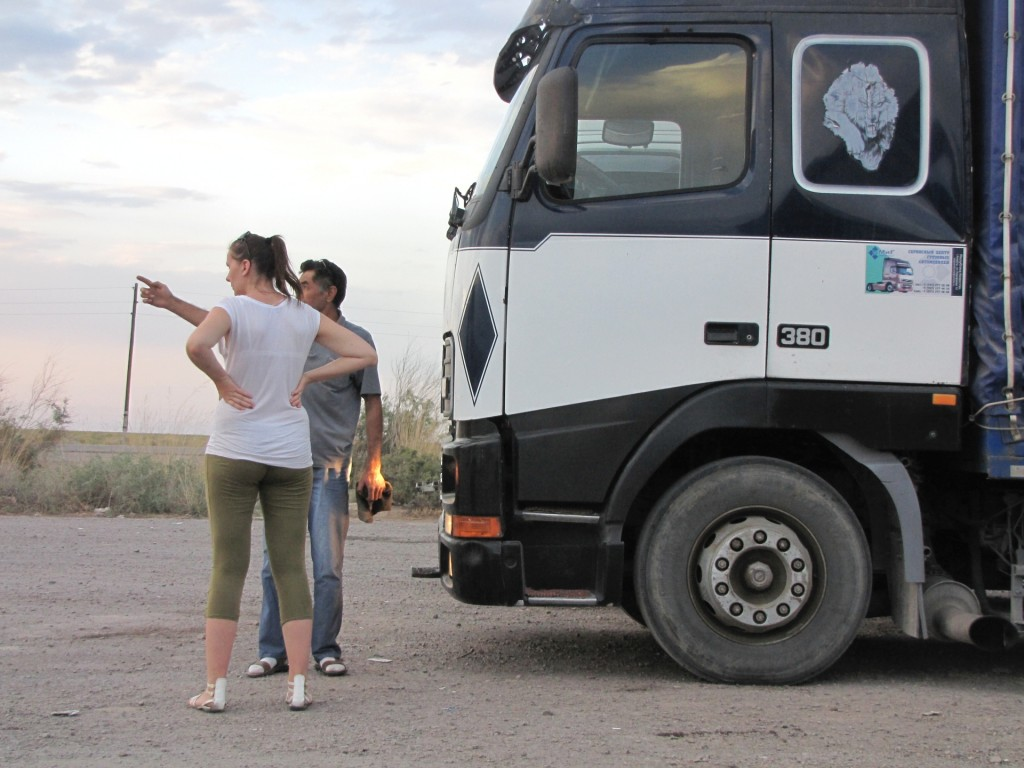 дальнобойщик в Казахстане
