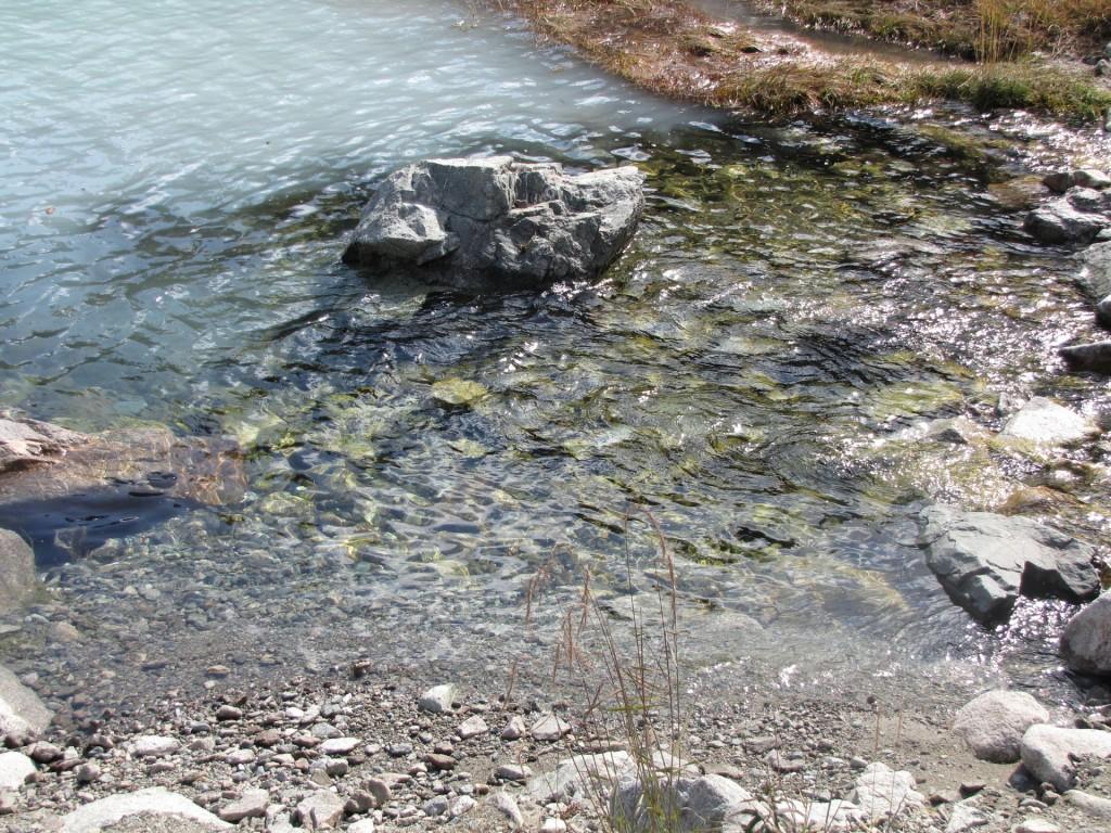 вода большого Алматинского озера