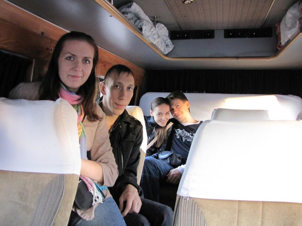 В маршрутке из Киргизии в Казахстан