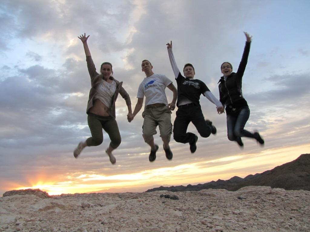Прыжок у Чарынского каньона