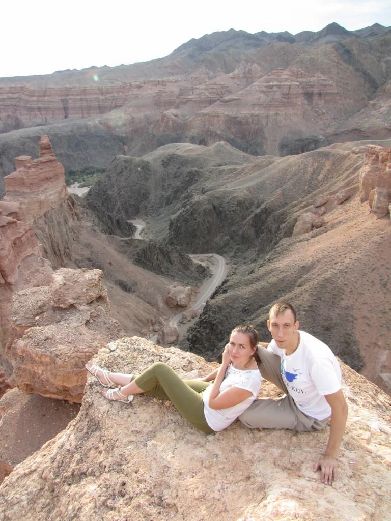 Мы у Чарынского каньона