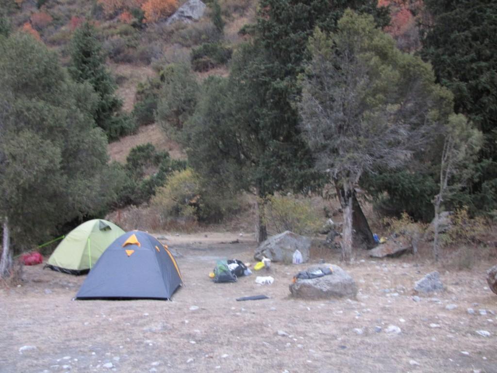 наш лагерь в Ала-Арче