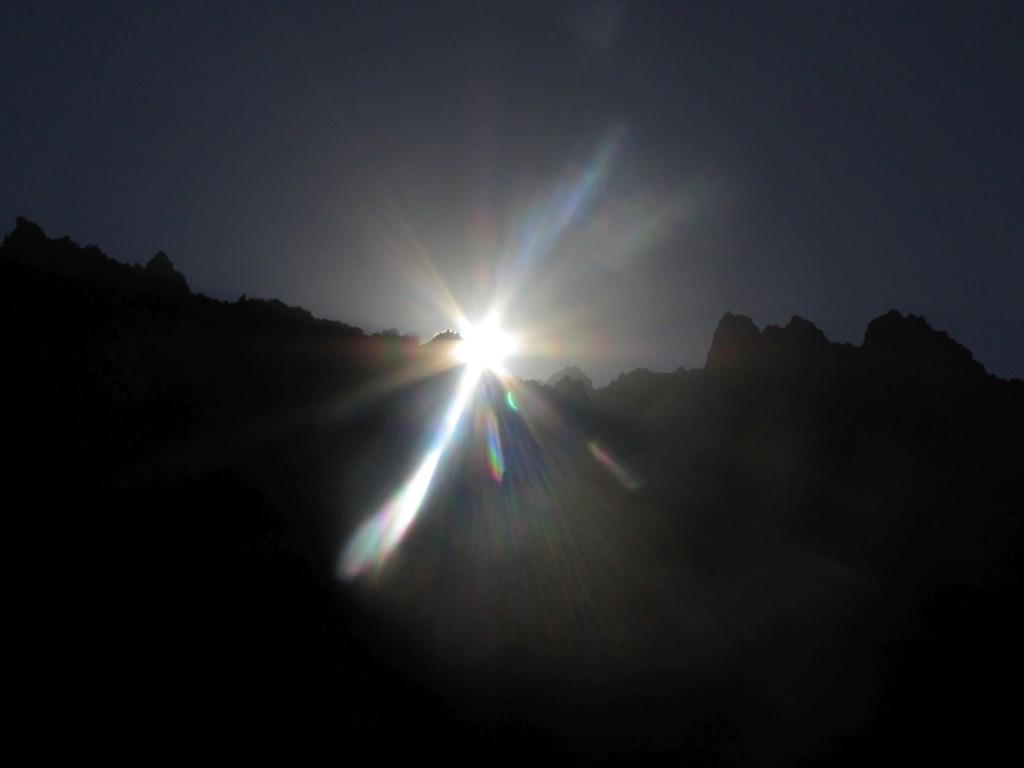 Ала-Арча рассвет